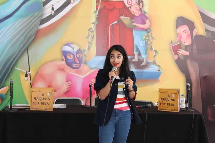 FILIJ 2017, 4 Presentacion La maquina de sorpresas, Cyls editores, Mariana Alcantara